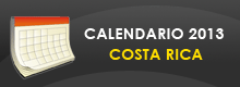 Calendario Anual Costa Rica
