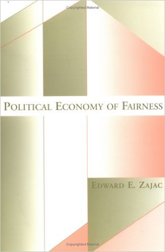 Political Economy of Fairness (MIT Press)