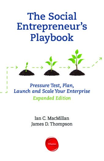 Social Entrepreneur's Playbook: Pressure Test Your Start-up Idea